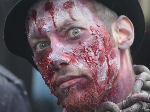 Les zombies dans les rues de Lyon samedi